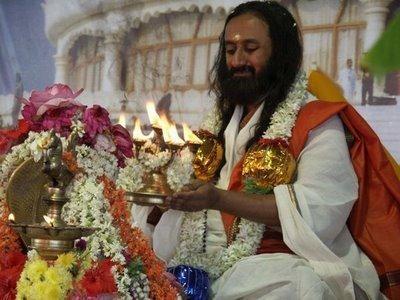 He fulfills all wishes Sri Sri