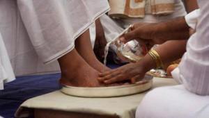 Feet of Beloved Sri Sri