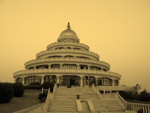 The Vishalakshi Mantap in the Ashram