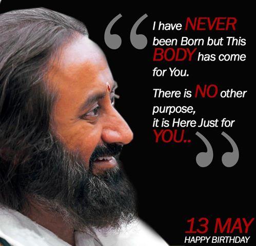 Sri Sri Ravi Shankar age