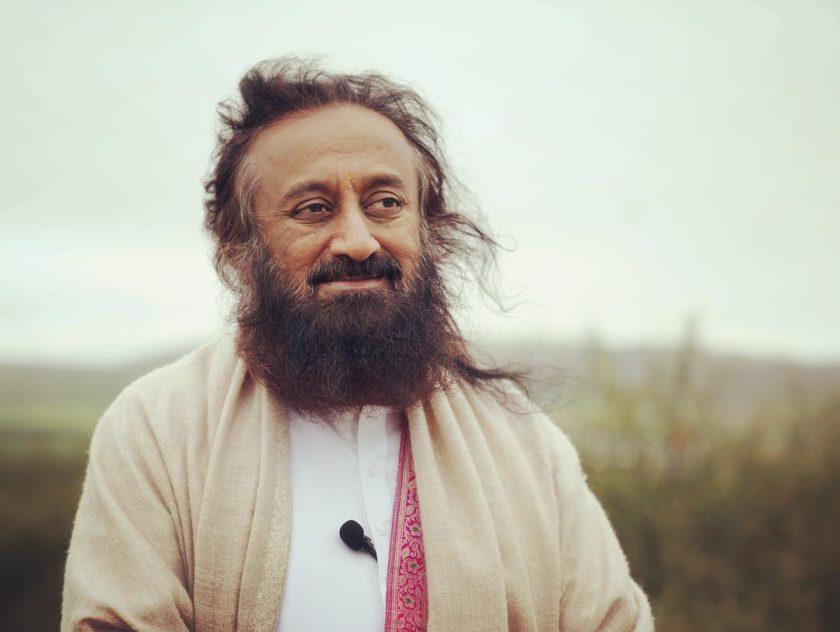 Gurudev Sri Sri Ravi Shankar Smiling